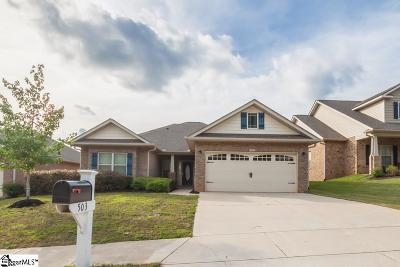 Simpsonville Single Family Home For Sale: 503 Airdale