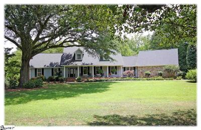 Easley Single Family Home For Sale: 632 Meadow Ridge