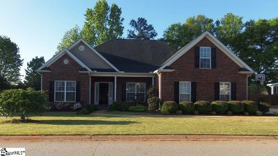 Greer Single Family Home For Sale: 208 Meadow Lake