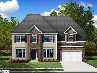 Boiling Springs Single Family Home For Sale: 781 Ashmont #Homesite