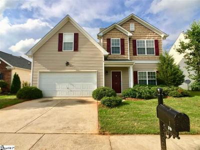 Simpsonville Single Family Home For Sale: 16 Paranor