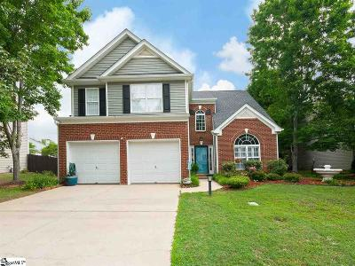 Greenville Single Family Home For Sale: 204 Stapleford Park