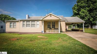 Greenville SC Single Family Home For Sale: $119,900