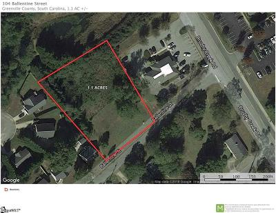 Easley Residential Lots & Land For Sale: 104 Ballentine