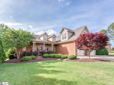 Inman Single Family Home For Sale: 609 Belle Terre