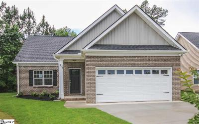 Easley Single Family Home For Sale: 211 Palmetto #LOT 1