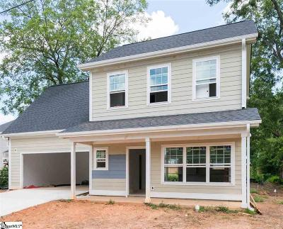 Greenville Single Family Home For Sale: 105 Aiken