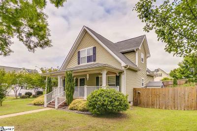 Greenville Single Family Home For Sale: 331 Woodlark
