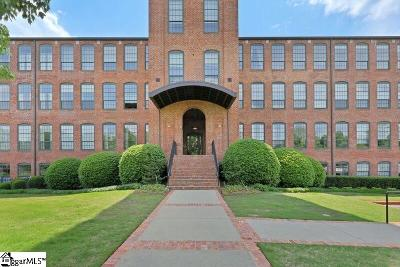 Greenville Condo/Townhouse For Sale: 400 Mills