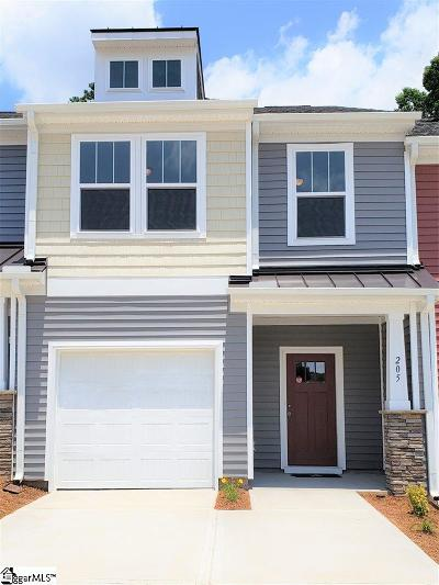 Spartanburg Condo/Townhouse For Sale: 205 Keaton
