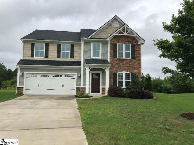 Simpsonville Single Family Home For Sale: 275 Chapel Hill