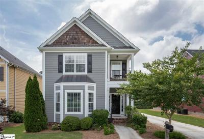 Simpsonville Single Family Home For Sale: 107 Farm Mill