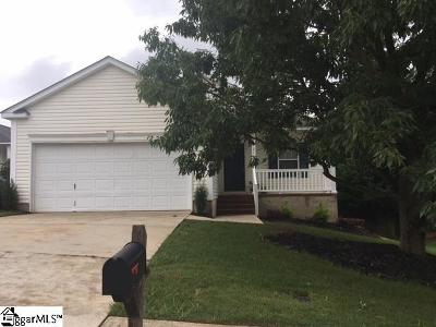 Greer Single Family Home Contingency Contract: 210 Seven Pines