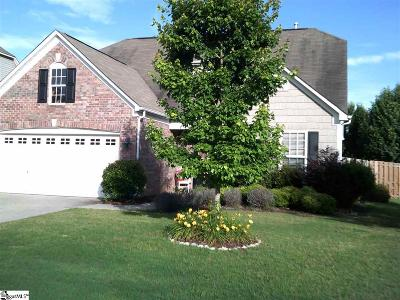 Simpsonville Single Family Home For Sale: 400 Tulip Tree