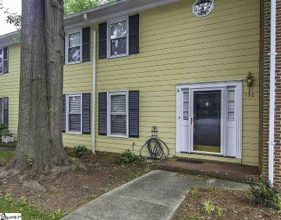 Spartanburg Condo/Townhouse For Sale: 132 Highridge