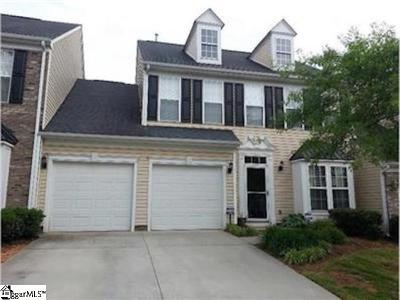 Greenville Condo/Townhouse For Sale: 104 Heavenly