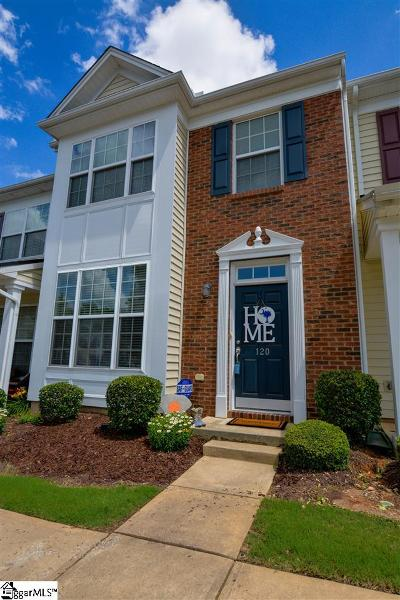 Greer Condo/Townhouse For Sale: 120 Xander