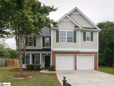 Simpsonville Single Family Home For Sale: 17 Summerfield