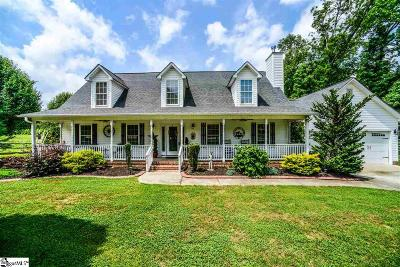 Pelzer Single Family Home For Sale: 119 Colonial