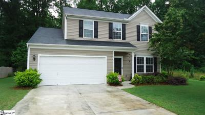 Spartanburg Single Family Home For Sale: 572 Cromwell