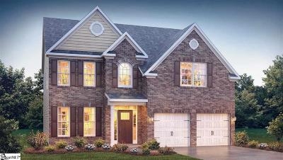 Inman Single Family Home For Sale: 656 Ridgeville Crossing #lot 62