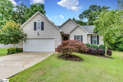 Mauldin Single Family Home For Sale: 5 Sutters Glen
