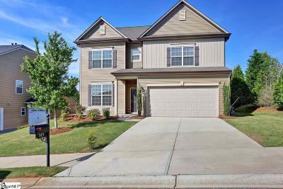 Greer Single Family Home For Sale: 315 Park Ridge