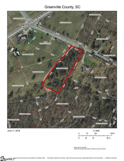 Simpsonville Residential Lots & Land Contingency Contract: Rocky Creek