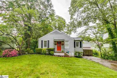 Augusta Road Single Family Home For Sale: 315 Grove