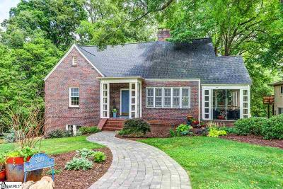 Greenville Single Family Home For Sale: 300 McDonald