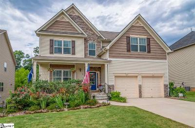 Simpsonville Single Family Home For Sale: 200 Abbey Gardens