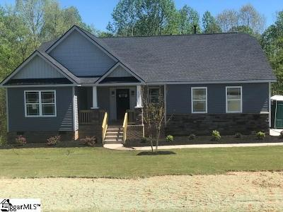 Simpsonville SC Single Family Home For Sale: $252,550