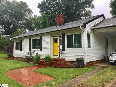 Greenville County Single Family Home For Sale: 210 Keith