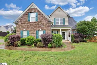 Spartanburg Single Family Home For Sale: 204 Wycliff