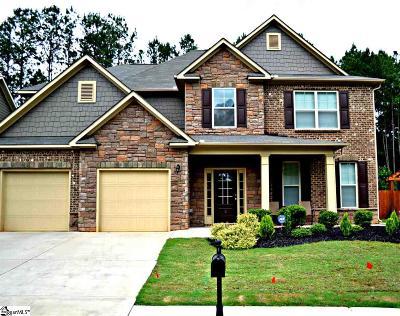 Fountain Inn Single Family Home For Sale: 5 Oak Willow