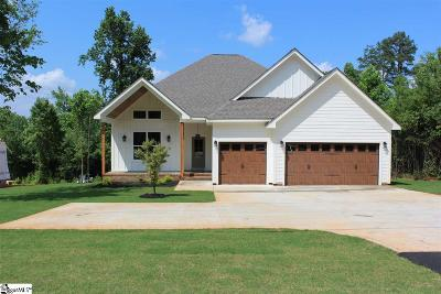Greer Single Family Home Contingency Contract: 3111 E Gap Creek
