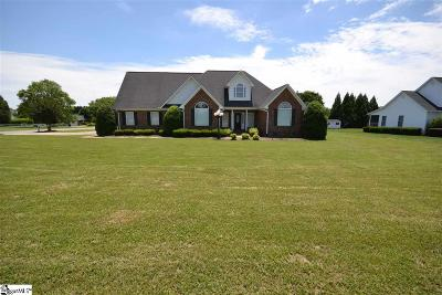 Woodruff Single Family Home For Sale: 7705 Reidville