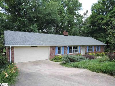 Taylors Single Family Home For Sale: 300 Hillbrook