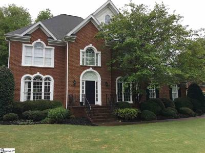 Simpsonville Single Family Home For Sale: 307 Shadowbrooke