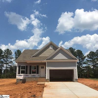 Inman Single Family Home For Sale: 512 Bella Woods #Lot 3