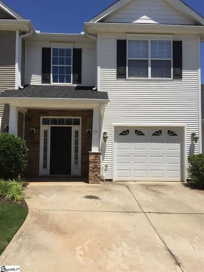 Greer Condo/Townhouse Contingency Contract: 15 Roselite