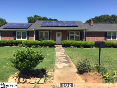 Simpsonville Single Family Home For Sale: 302 Wemberly