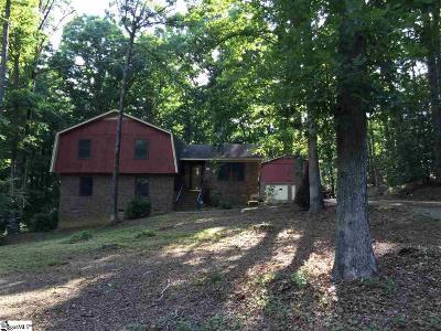 Fountain Inn Single Family Home Contingency Contract: 66 Carolina