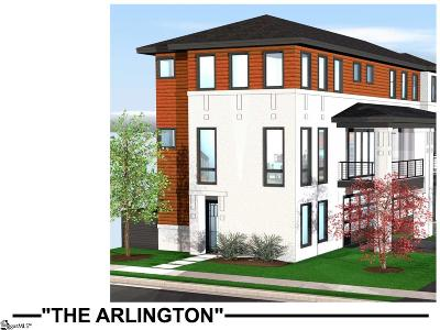 Downtown Condo/Townhouse Contingency Contract: 12 S Calhoun #Lot 1