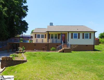 Greer Single Family Home For Sale: 319 Morrow