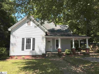Woodruff Single Family Home For Sale: 339 Irby