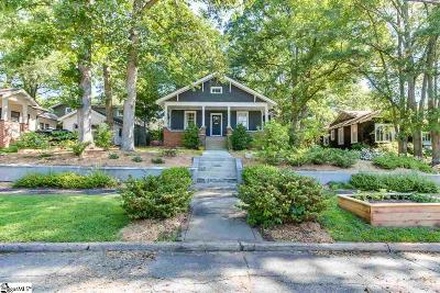 Greenville Single Family Home Contingency Contract: 5 Poinsett