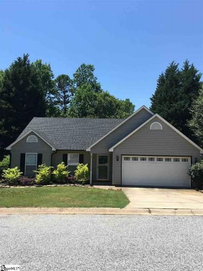 Greenville County Single Family Home Contingency Contract: 227 Riverside Chase