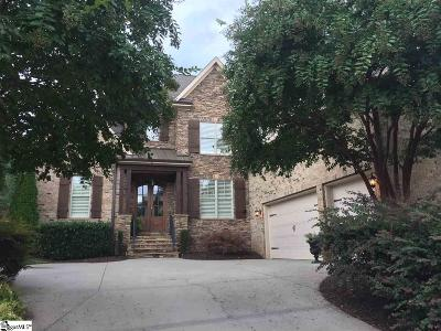 Greer SC Single Family Home For Sale: $649,000