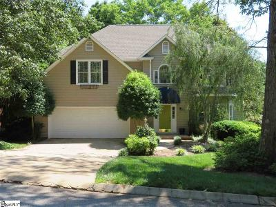 Greer Single Family Home For Sale: 310 Woodway